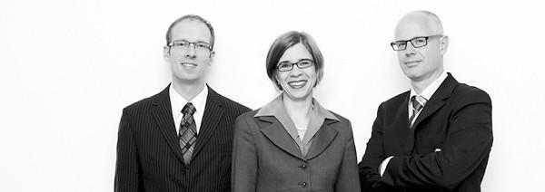 Sebastian Leonhard, Tanja Wessels und Peter Paul Thierfelder